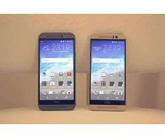 HTC M9 grey gold