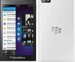 Blackberry Z10 Blanco  Como Nuevo En Su Caja Con Accesorios