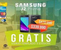 Samsung J2 Prime 4g Lte,GRATIS Vidrio templado y Estuche,Nuevo,Libre,Garantía 1 año sa