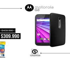 Motorola G3 4g lte Gratis Estuche, nuevo, original, anti agua, mejor que g4 play, garantia, factura,