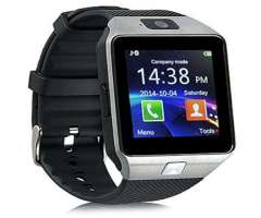 Reloj Inteligente Smart Watch, Con Camara, Sim, SD, Bluetooth, Tipo Gear 2, Nuevos, Garantizados