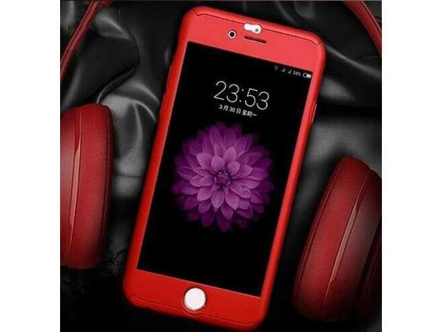 229e044e869 Forro Estuche 360° Iphone 6 6plus 7 7plus Incluye Vidrio Templado TULUA
