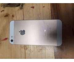 iPhone 5S Dorado Muy bien cuidado