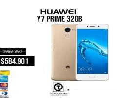 Huawei Y7 prime 4g 32GB ,Nuevos, Sellado,Libre,Garantía,Factura, Originales.