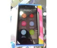 SM8 Motorola Moto C Nuevos con 1 año de garantia en caja para estrenar