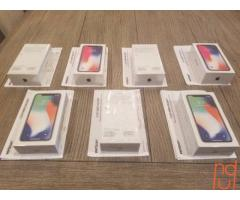 NEW iPhone X 256 GB 64 GB