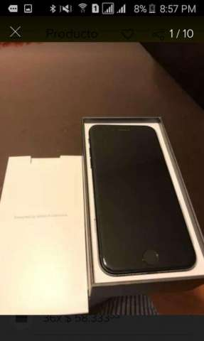 iPhone 7 de 256gb Jet Black Barato