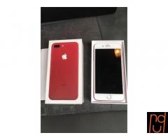 Apple iphone 7 más 128 gb rojo desbloqueado