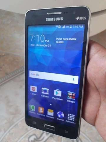 vendo samsung galaxy grand prime funciona full