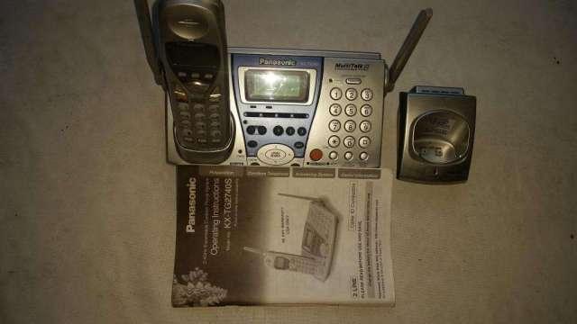 TELEFONO PANASONIC KX  TG 2740 S ESCRITORIO 2 LINEAS