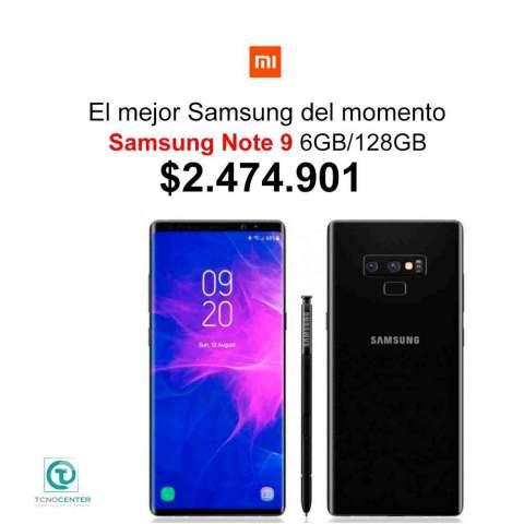 Samsung Note 9 512GB/128GB TIENDA FÍSICA, ESTUCHE y PROTECTOR DE PANTALLA,Nuevos,Li...
