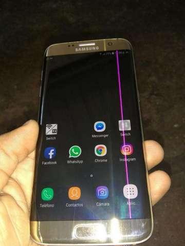 Samsung S7 Edge con Fisura