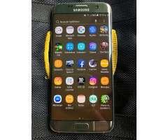 Vendo Samsung S7 Edge Dorado de 32 Gb