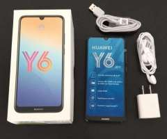 Vendo celular Huawei Y6 2019 2/32GB COMO NUEVO, GANGA!!