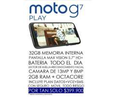 No Te Quedes sin Tu Moto G7 Play.