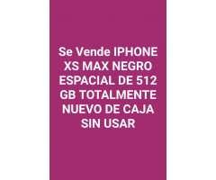 iPhone Xs Max 512 Gb Negro Espacial