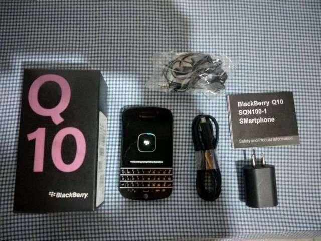 Blackberry Q 10 Restaurado, Como Nuevo