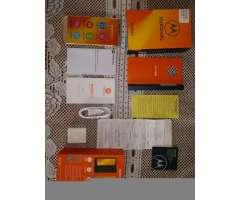Motorola E5 Play Dorado Nuevo Solo 5dias