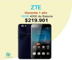 ZTE a612 16gb de almacenamiento, 4000 de bateria, Garantia 1 año, Tienda Fisica, Xiaomi.