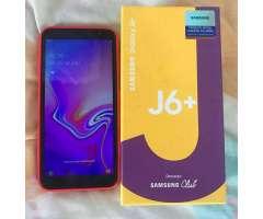 Vendo Samsung J6 Plus con Caja