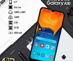 Samsung Galaxy A30/sellado en caja