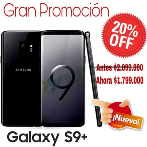 Samsung Galaxy S9 Plus de 64gb Color Neg