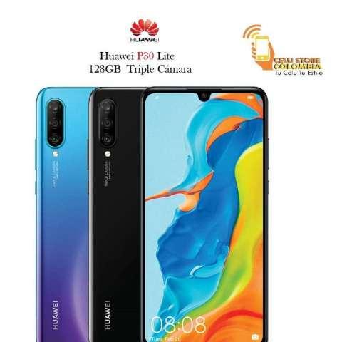 Huawei P30 Lite 4 Gb, 128GB Nuevo y original CON FACTURA LEGAL