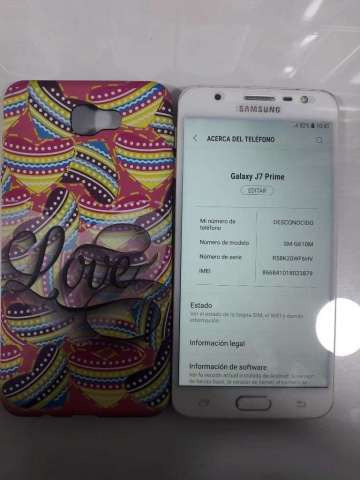 Vendo Samsung Galaxy J7 Prime de 32 Gb