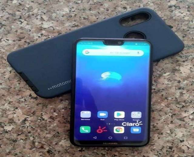 Vendo Huawei P20 Lite negro de huella 32gb almacenamiento y 4gb ram