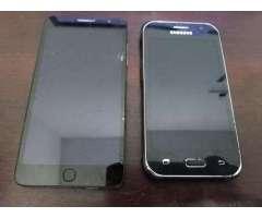 Vendo Cel Alcatel y SamsungPara Cambiar Display