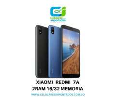 Xiaomi Redmi 7A 2Ram 32 Memoria Nuevos Originales Factura Legal