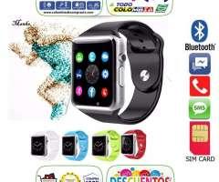 Reloj Inteligente Smartwatch Camara Sim Sd Homologados, Bluetooth, Smartphone Android, Smart Wa...