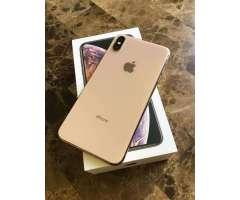 iPhone Xs Max de 256Gb Dorado