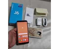 Samsung Galaxy J6 de 32 Gb con Garantia