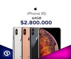 Iphone XS Normal 64gb, Nuevo, sellado,Garantia, factura, TIENDA FÍSICA.