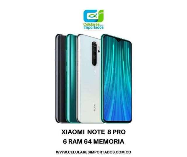 Xiaomi Note 8 Pro 6Ram 64 Mem Nuevos en caja sellada Originales factura legal