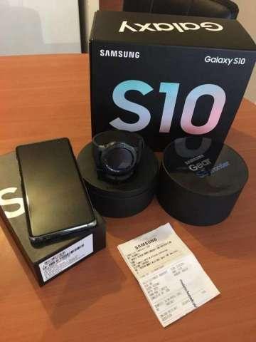 samsung S10plus 128GB y reloj Gear S3 Frontier