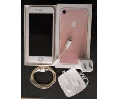 Vendo iPhone 7 32gb Rosa