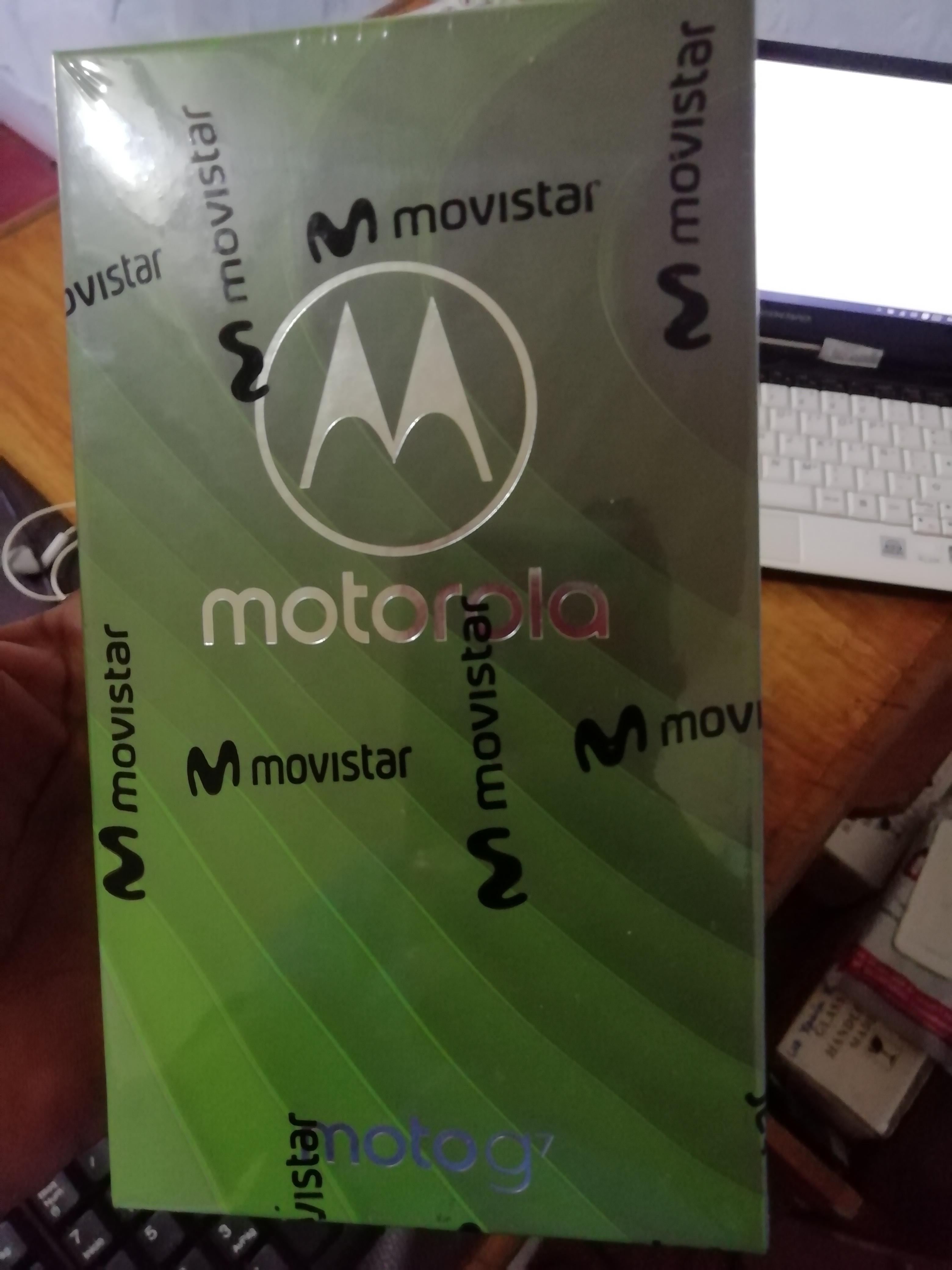 Vendo Motorola G7 nuevo en caja
