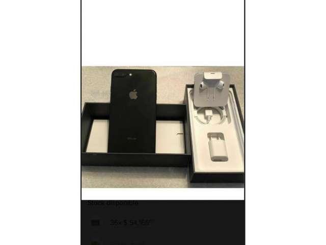Iphone 8 Plus de 64 gb Negro libre cualquier operador,  con factura, como nuevo.10/10 estado. U...