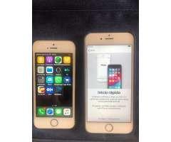 Se venden dos iPhone 5s y 6